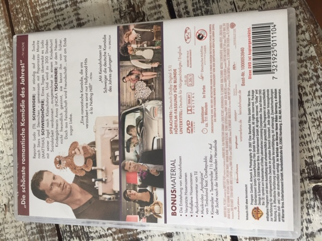 """DVD """"Keinohrhasen"""" kostenlos"""