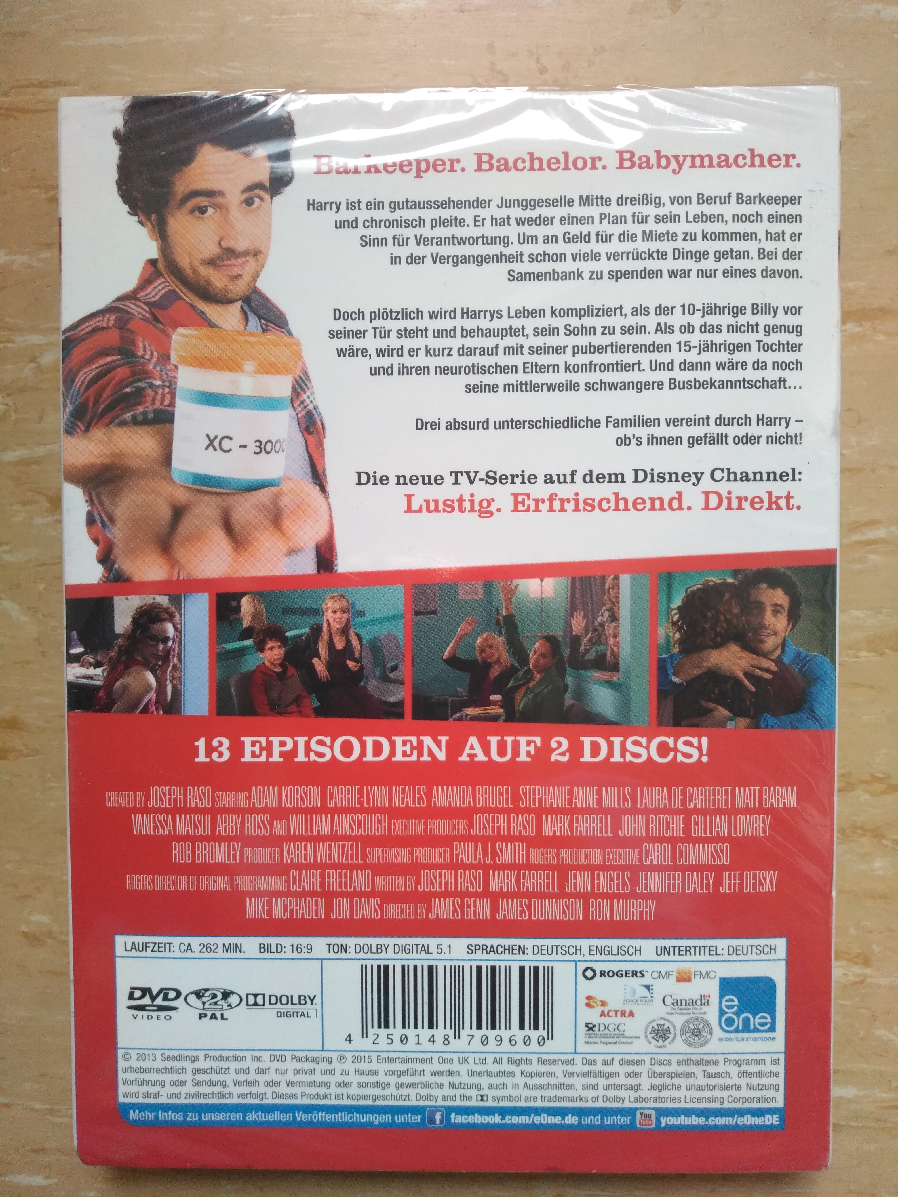 """DVD """" Seed """" Staffel Eins kostenlos"""