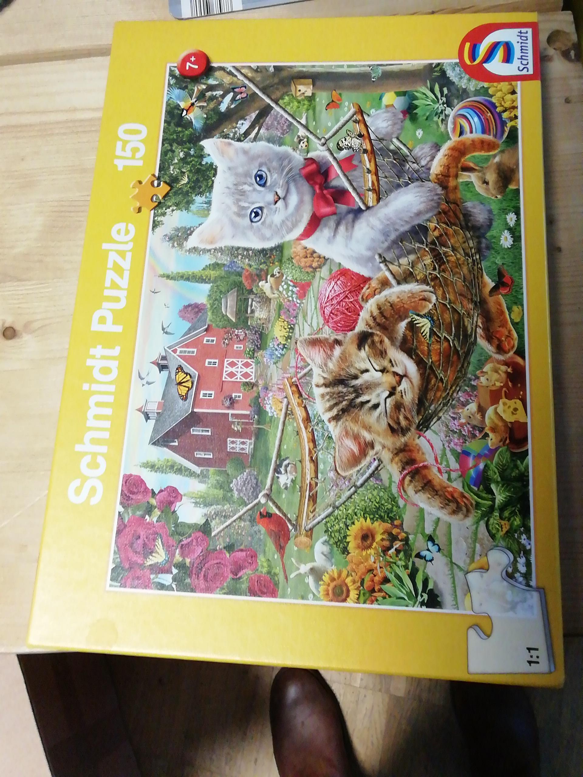Puzzle 150 tauschen