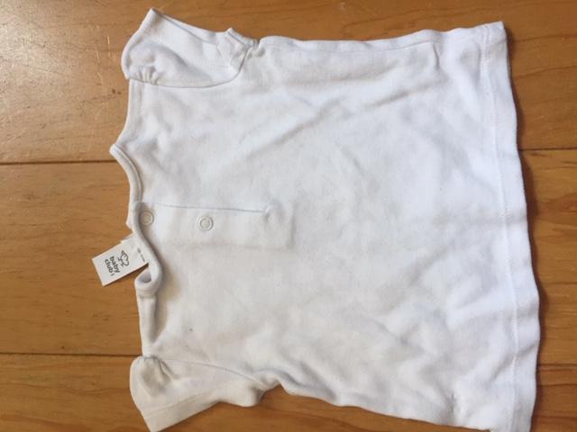 weißes Shirt 68  kostenlos