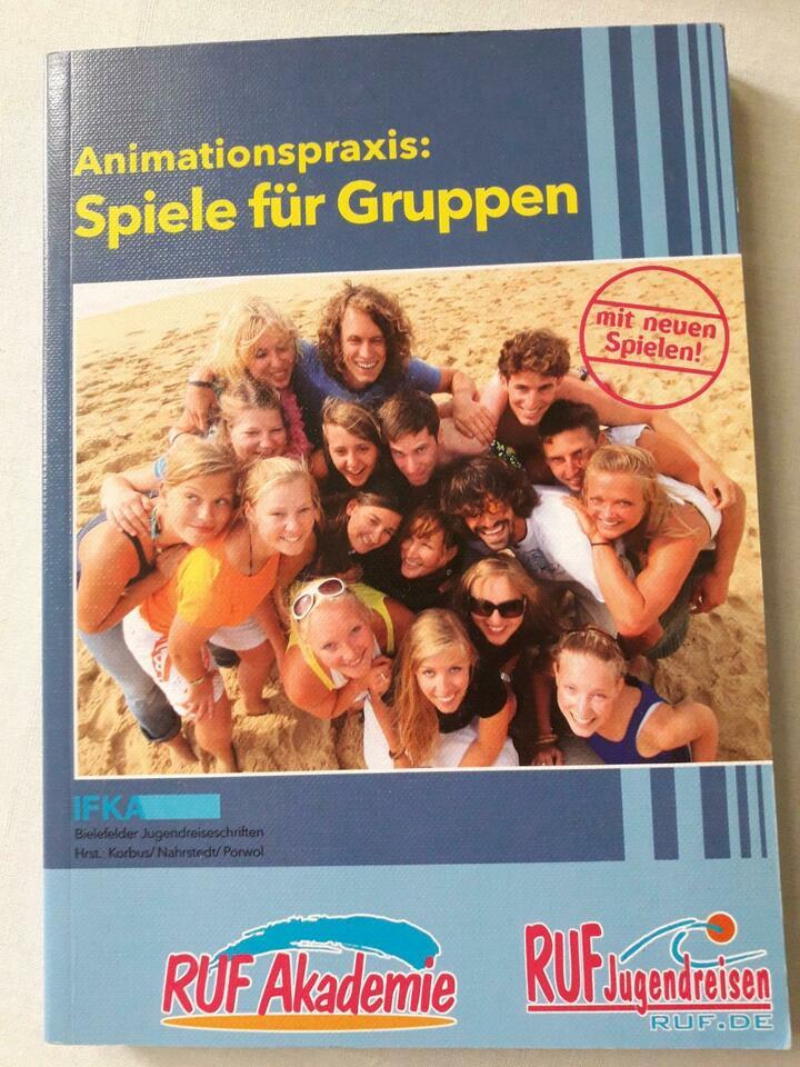 Buch mit Spielen für Gruppen  tauschen