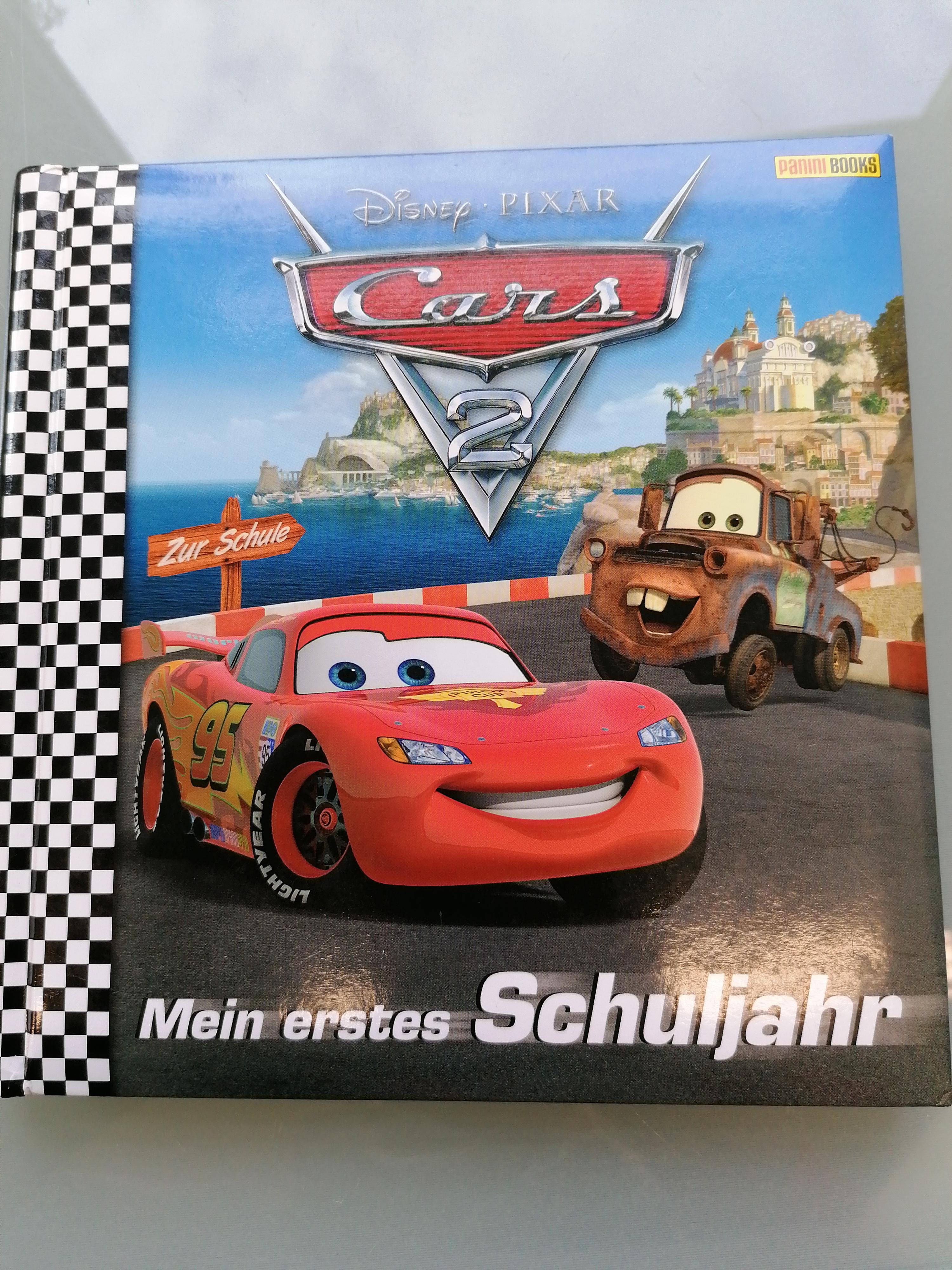 DisneyPixar Cars 2 Schulbuch NEU tauschen
