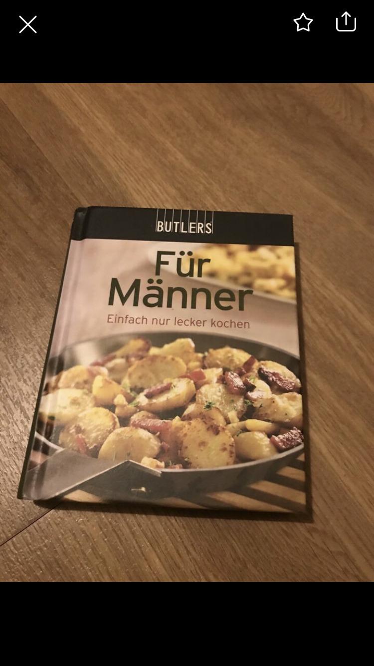 Kochbuch für Männer  tauschen