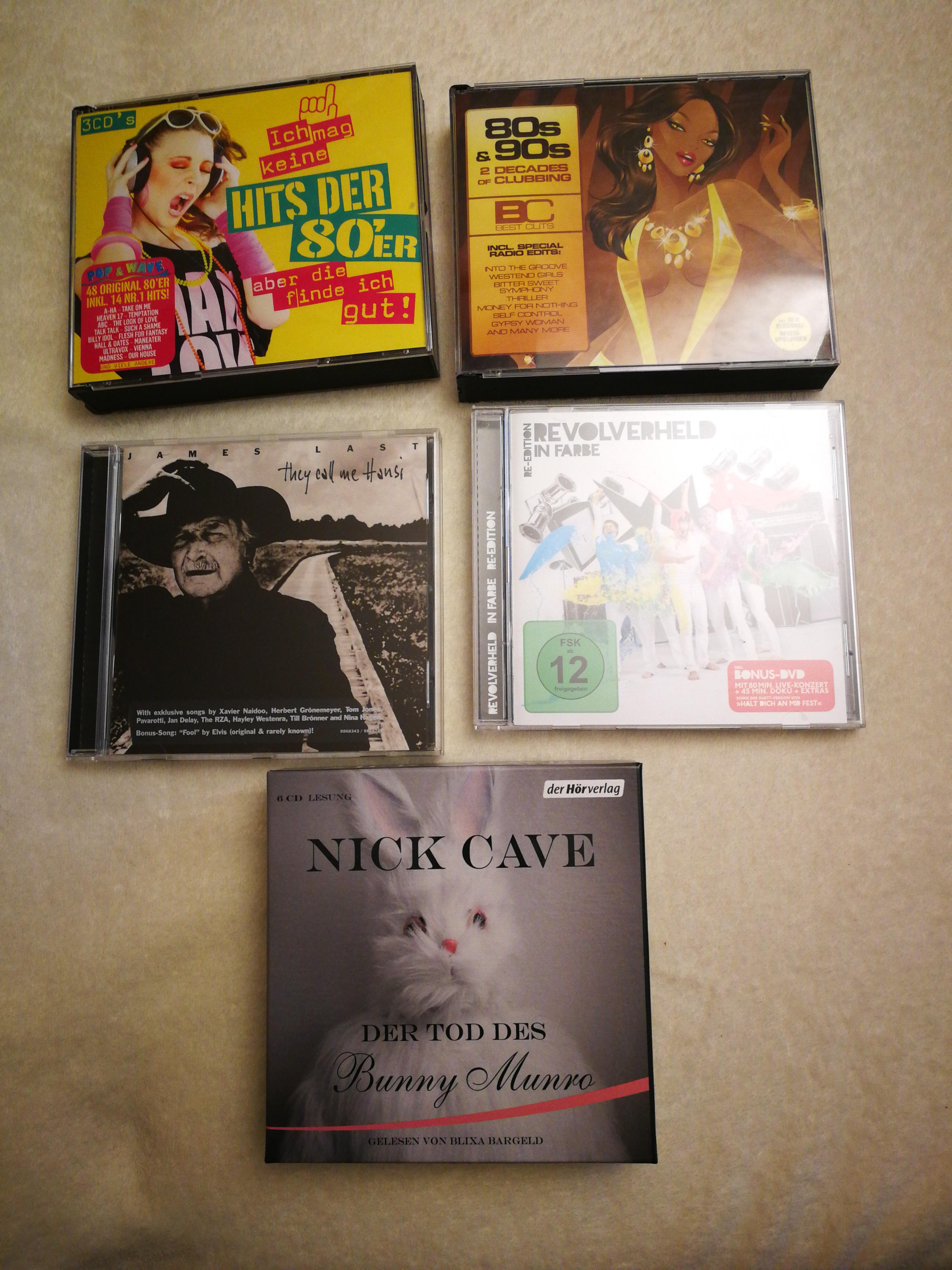 CDs  tauschen