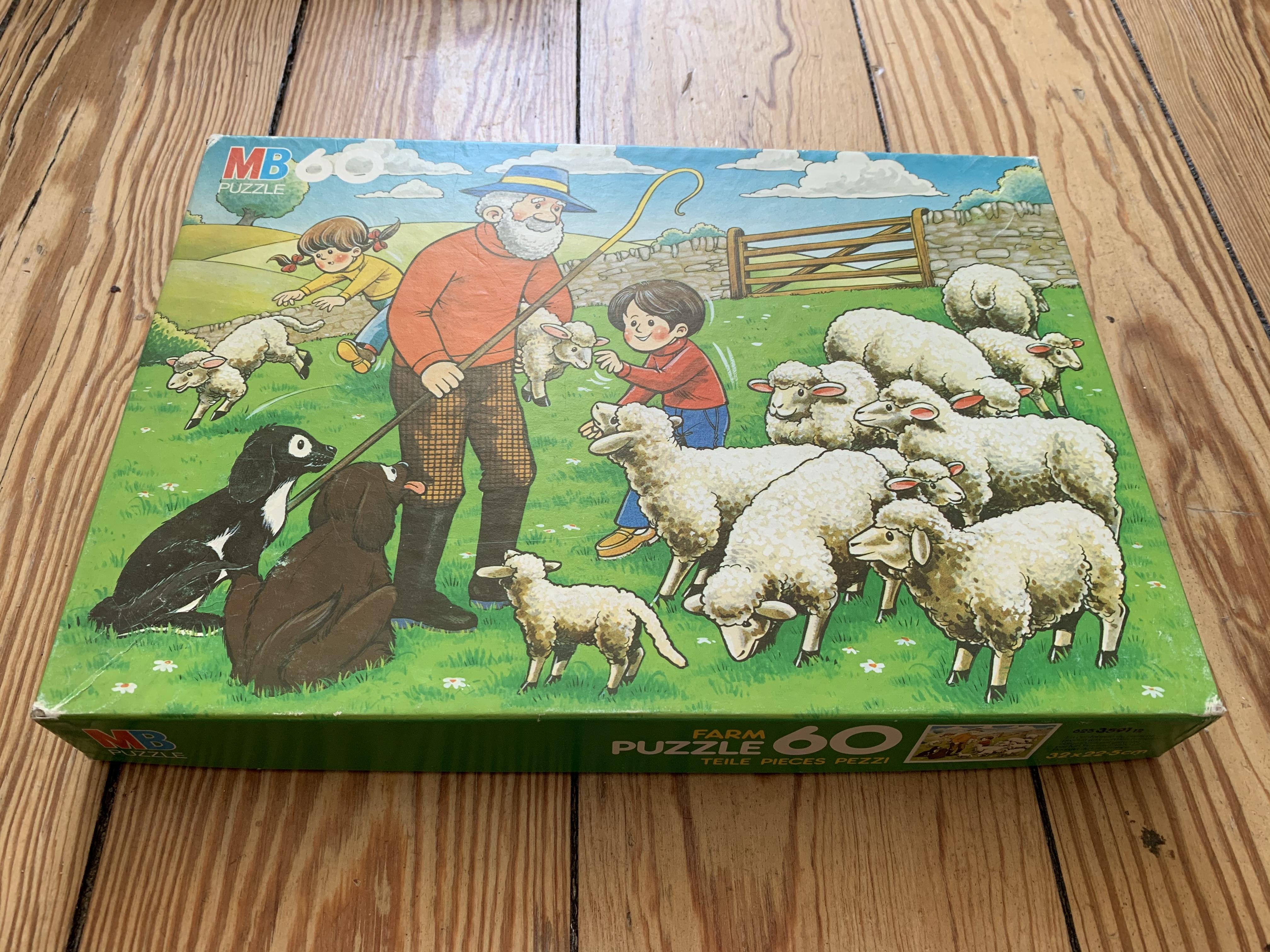 Kinder Puzzle 60 Teile tauschen