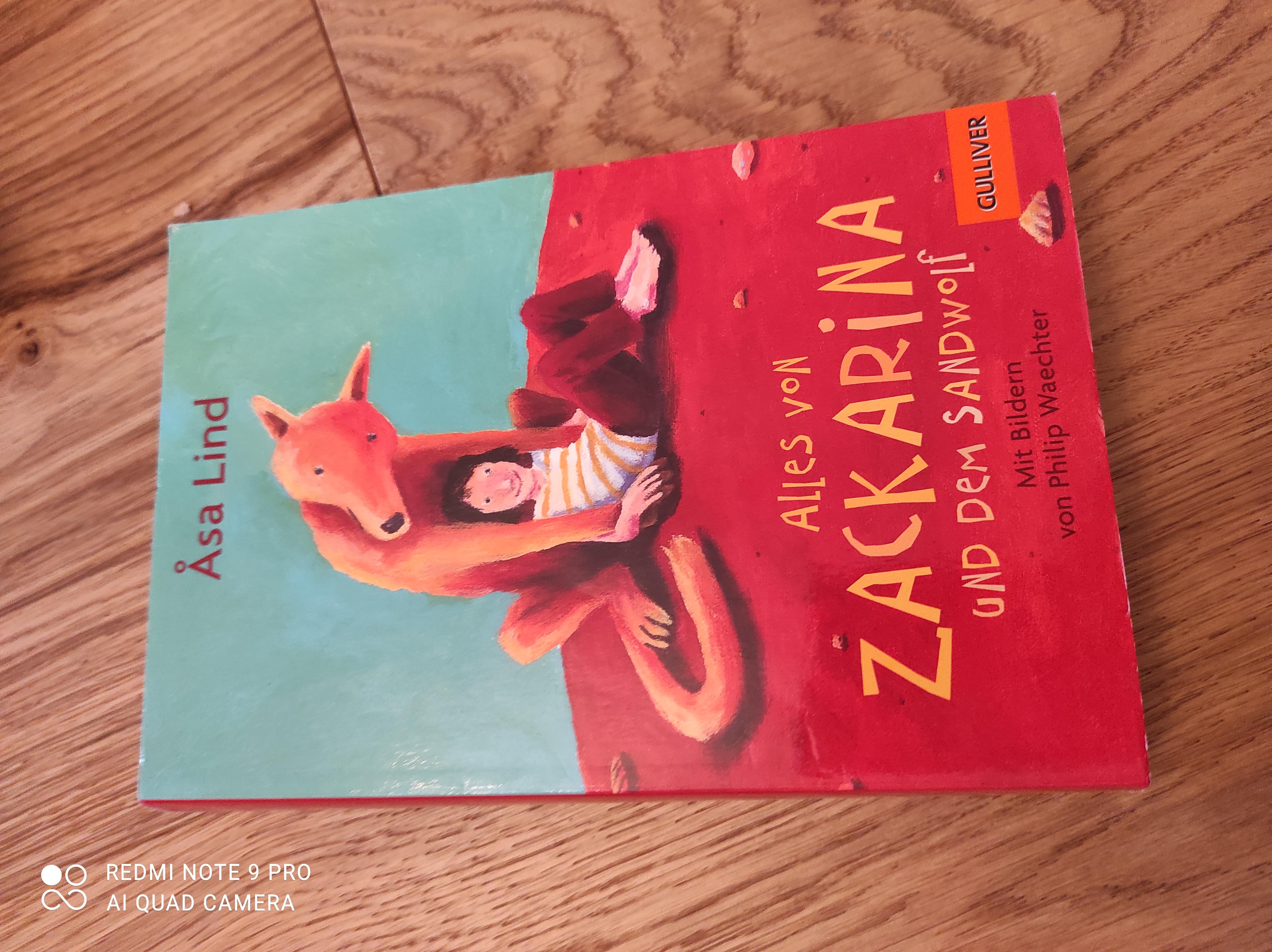 Zackarina und der Sandwolf tauschen
