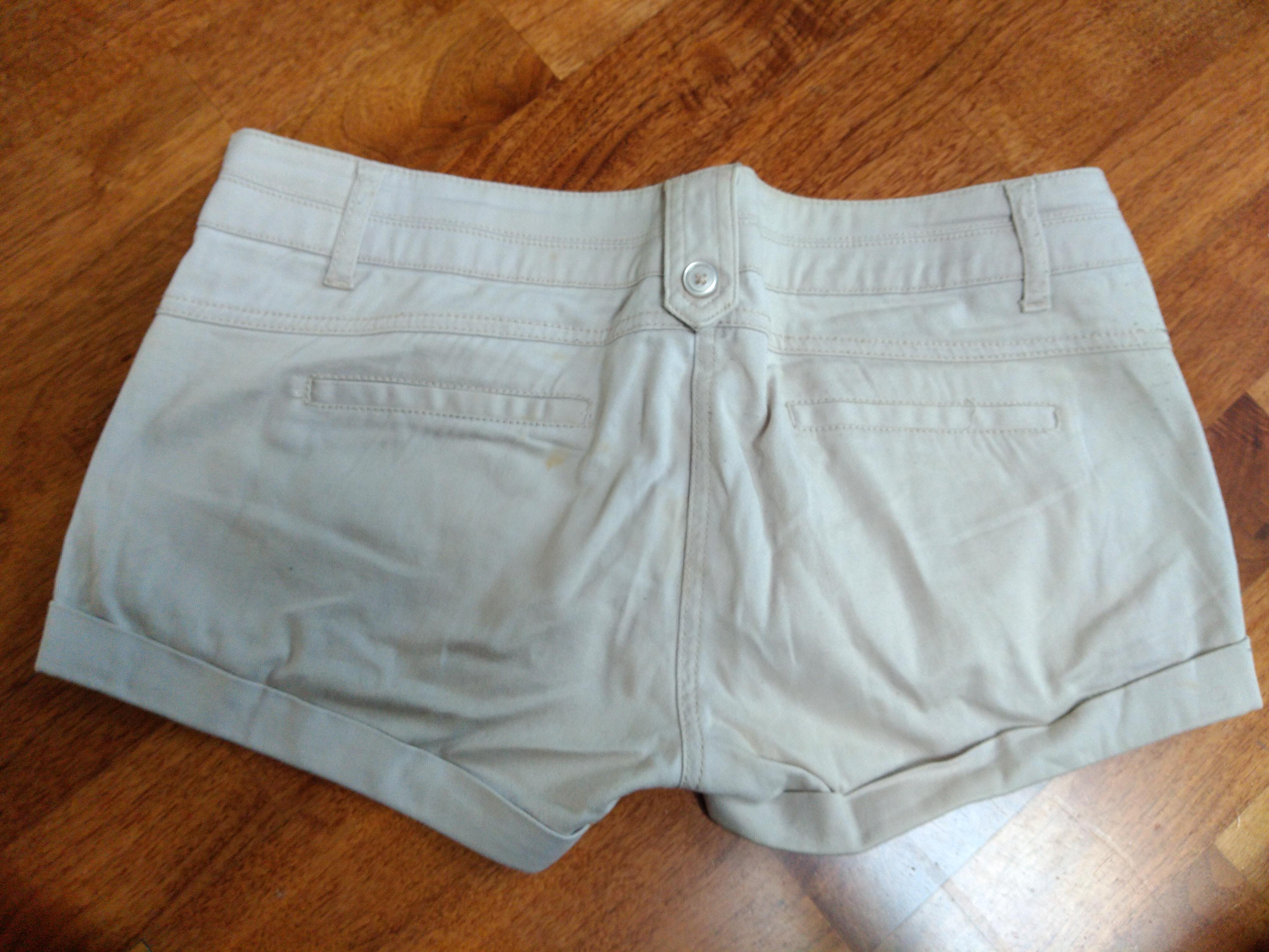 kurze Hose beige Shorts Gr M kostenlos
