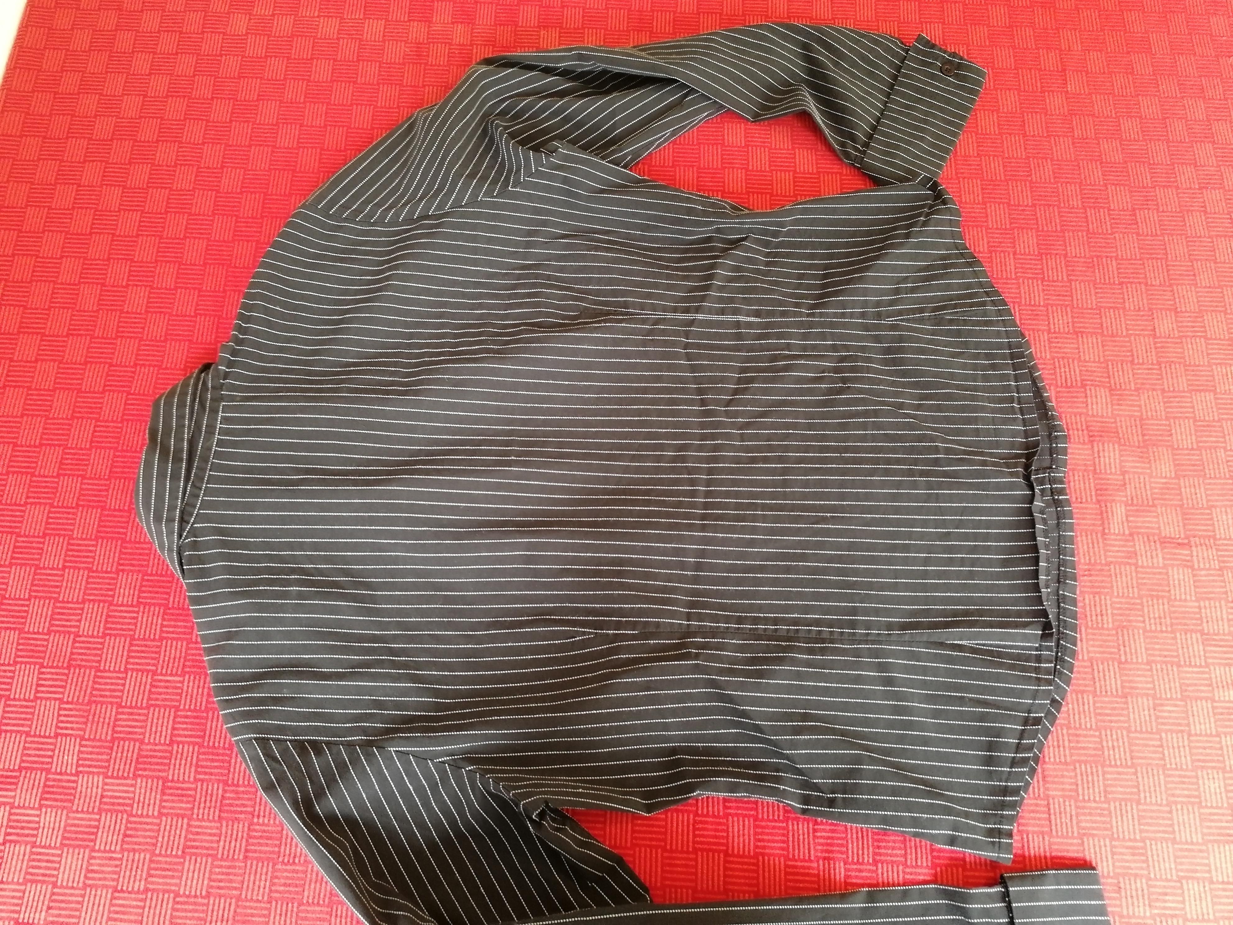 Schwarz weiß gestreifte Bluse 42 kostenlos