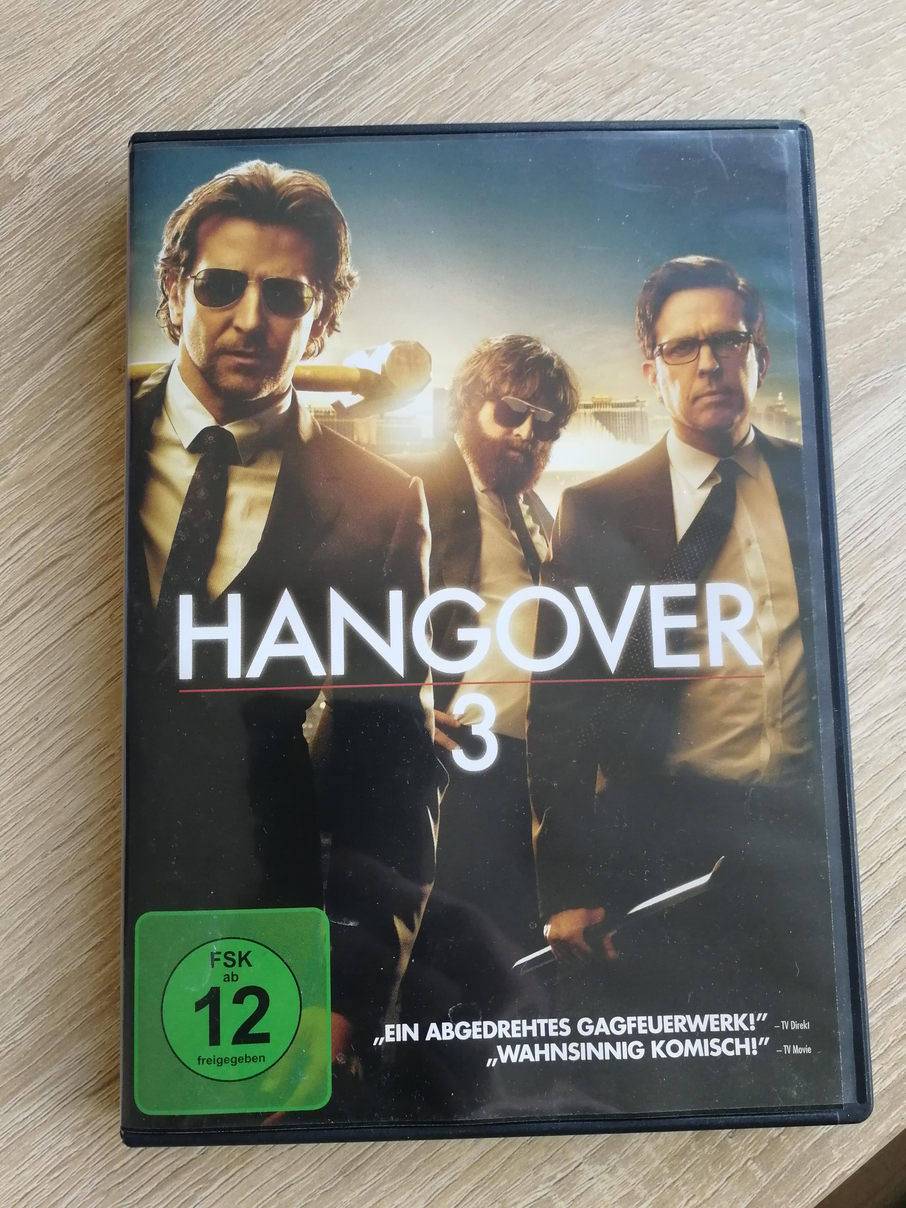 DVD Hangover 3 tauschen