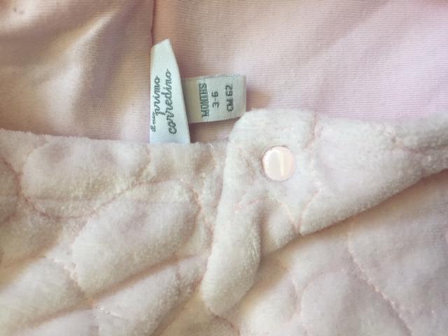 Weiche rosa Jacke Gr. 62 gebraucht kaufen