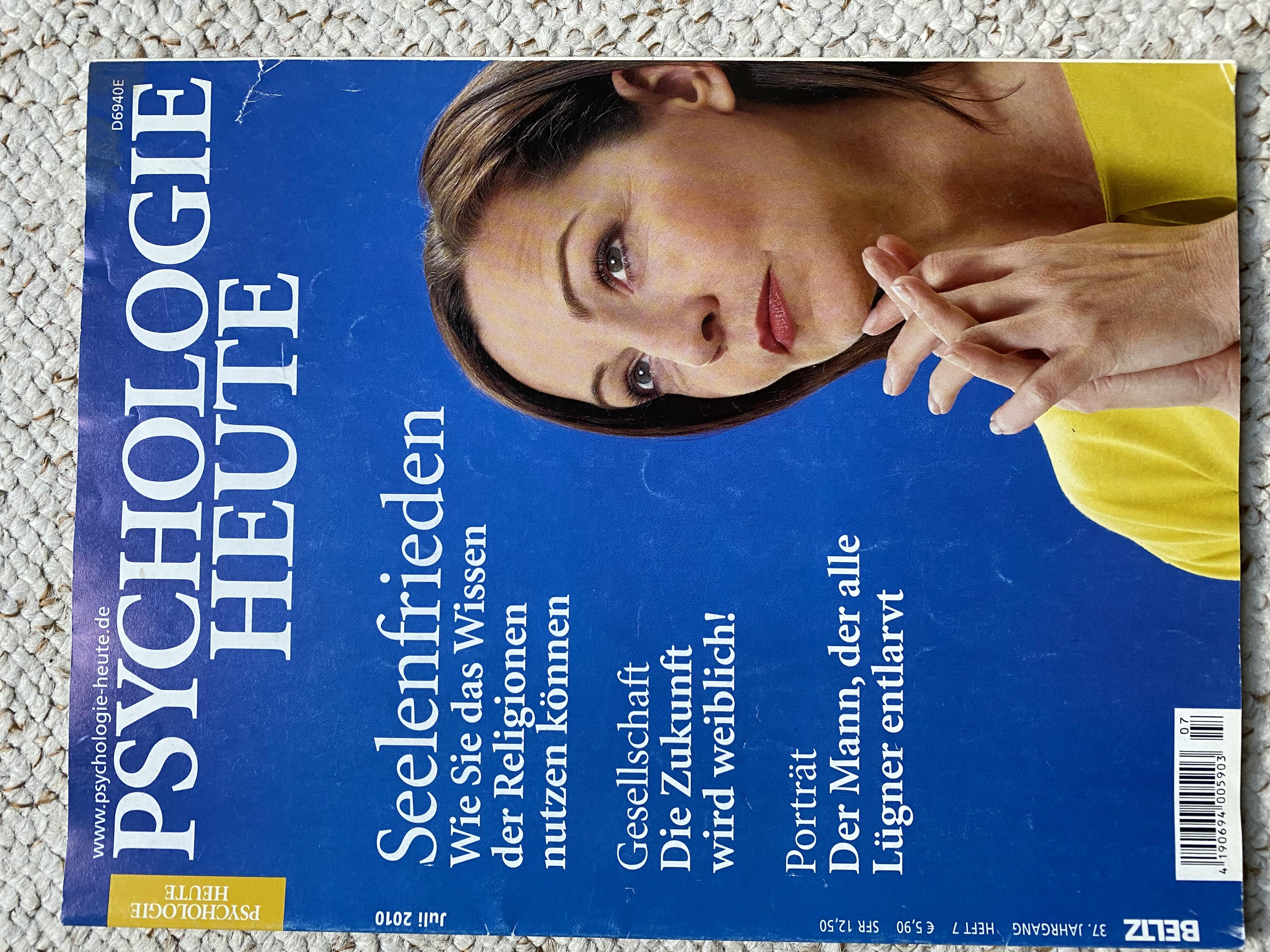 Psychologie heute Zeitschrift tauschen